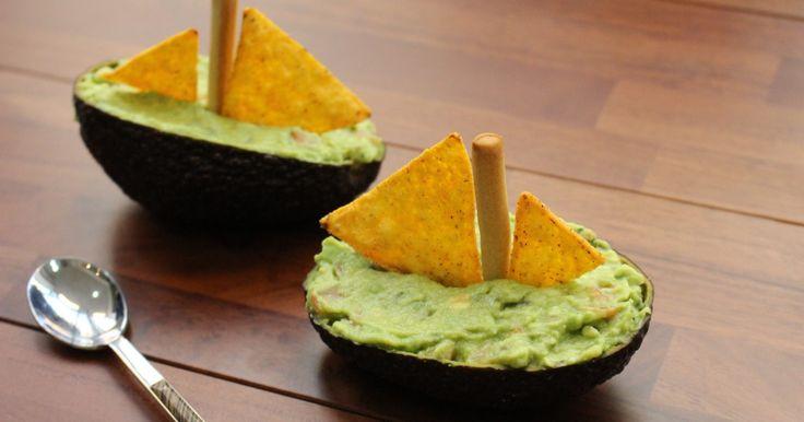 Recette - Voilier avocat au guacamole en vidéo