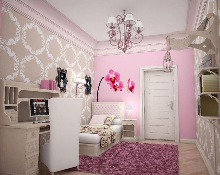 Gambar desain kamar tidur anak perempuan ini bisa menjadi pilihan bagi orang tua untuk membuat anak perempuan mereka nyaman dan betah di kamar tidur.