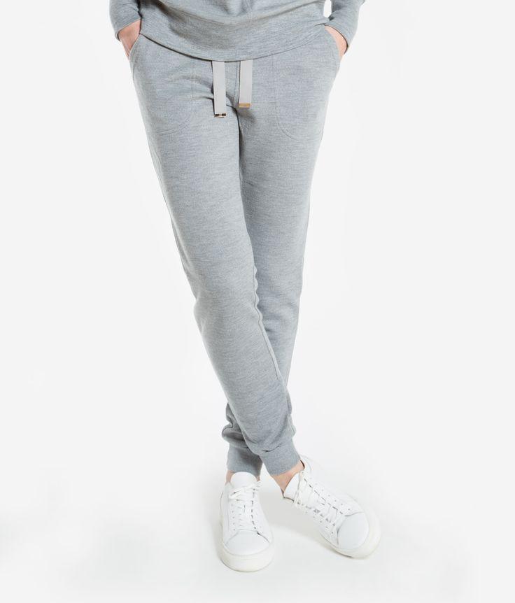 BaseTwo Pant Women Grey melange