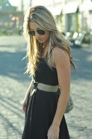 Belt...maxi dress...