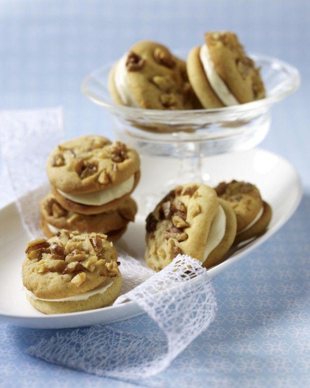 Unser beliebtes Rezept für Walnuss-Cookies mit Honigcreme und mehr als 55.000 weitere kostenlose Rezepte auf LECKER.de.