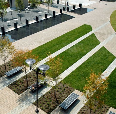 Modern public square google search torg pinterest for Spaces landscape architecture