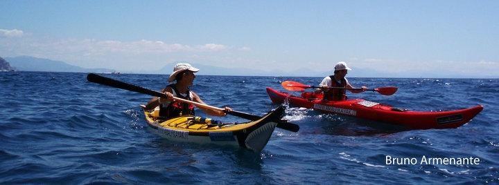 Kayaking along the Amalfi Coast