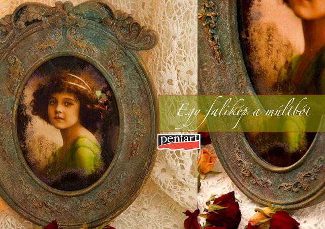 #diy #pictureframes #antique #stoneeffect #cracking #decoupage #mirroreffect #acrylicpaint #pentart