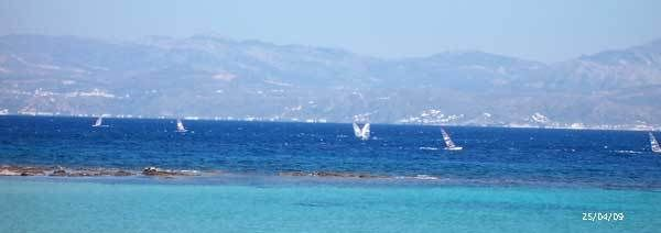 Fighting with the wind! #Paros, #Greece,  #Windsurf, #Greek islands
