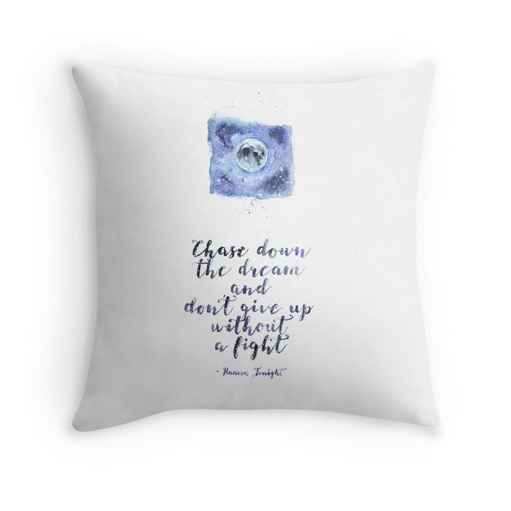 """Hanson lyrics"" Throw Pillows by WaterLyrics | Redbubble"