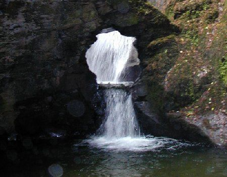 The Waterfall - St Nectan's Glen, where King Arthur's knights were baptised before the holy grail: Nectans Glen, Favorite Places, Waterfall St, Arthur S Knights, Holy Grail, Waterfall Outlet, Magical Waterfall, Cornwall England