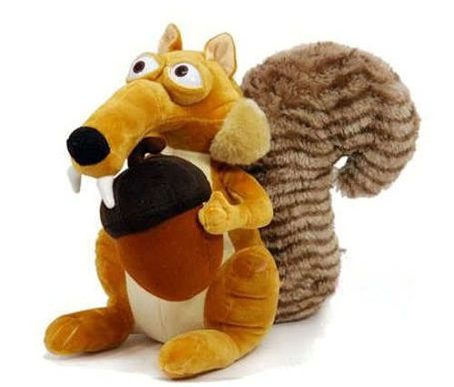 4.11$  Buy here - Plush Soft Doll Ice Age 3 SCRAT Squirrel Stuffed  Animal Toy 7   #buyonlinewebsite
