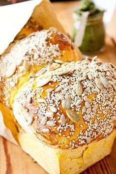 Тающий тыквенный хлеб