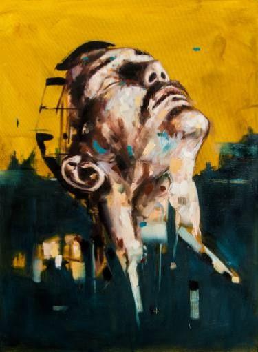 """Saatchi Art Artist Davide Cambria; Painting, """"Non contare le battaglie pensando alle rovine"""" #art"""
