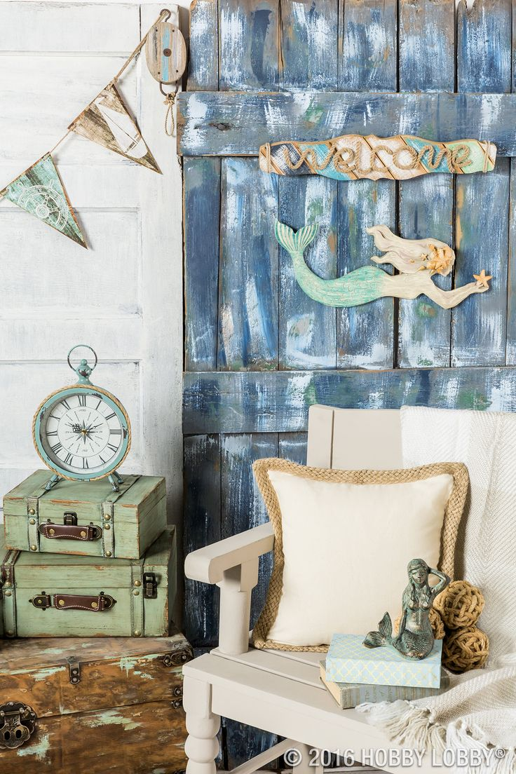 Dreaming Of Salty Air And Wave Washed Hair? Bring The Joy Of The Beach. Home  DecorationsBeach ...