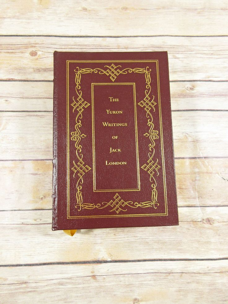 Tally Hall Press #Book - The #Yukon Writings of Jack London