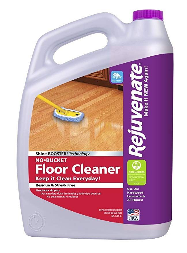 Rejuvenate No Bucket Floor Cleaner Fresh Scent 1 Gallon Floor Cleaner Clean Laminate Wood Floor Cleaner