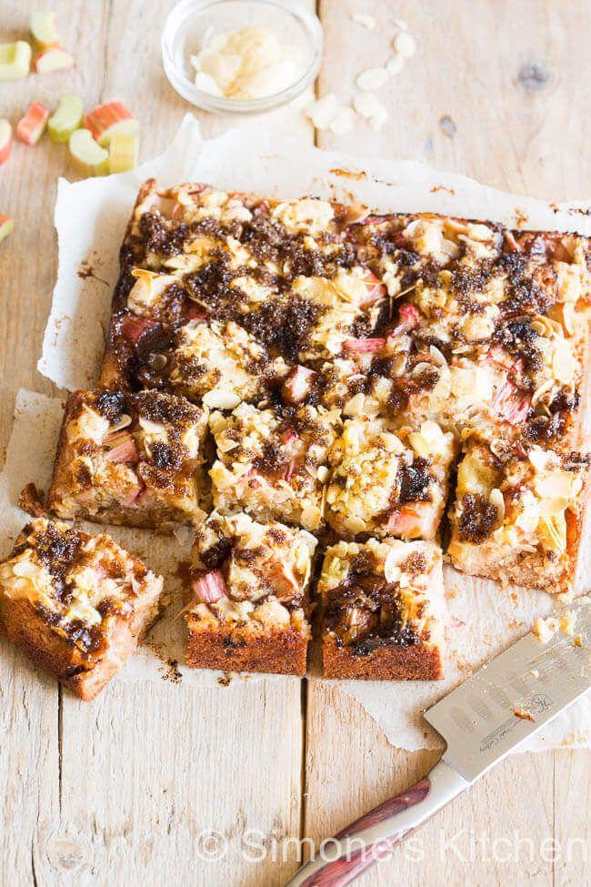 Rabarber hazelnoot cake | simoneskitchen.nl