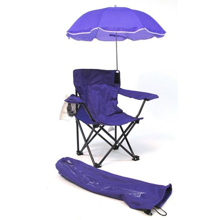 Outdoor Beach Baby Kids Camp Chair with Umbrella - 9106