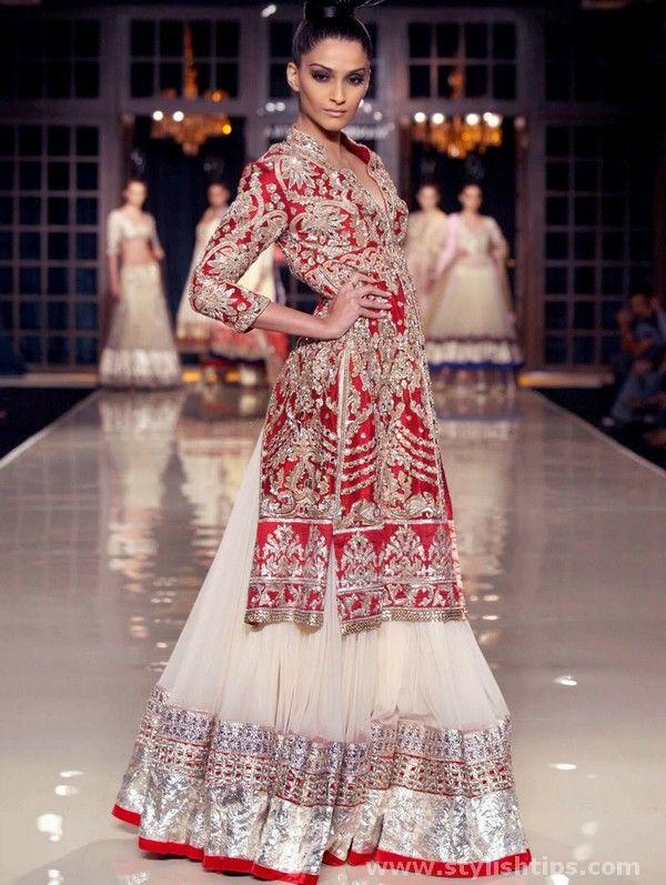 Modern Bridal Sharara Designs & Sharara Patterns