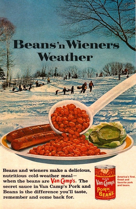 Van Camps Beans and Wieners Weather