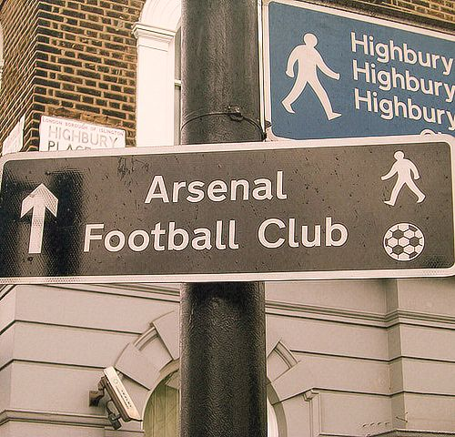 Arsenal...this way....
