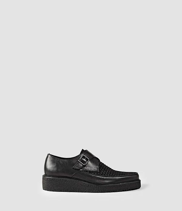 Mens Aspect Shoe (Black) | ALLSAINTS.com