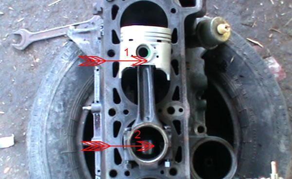 Юбка цилиндра двигатель ваз 2114