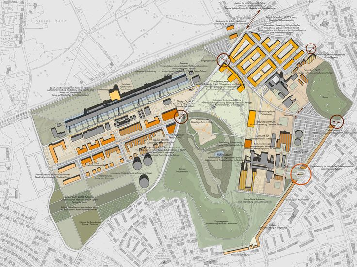 Imagini pentru zollverein masterplan