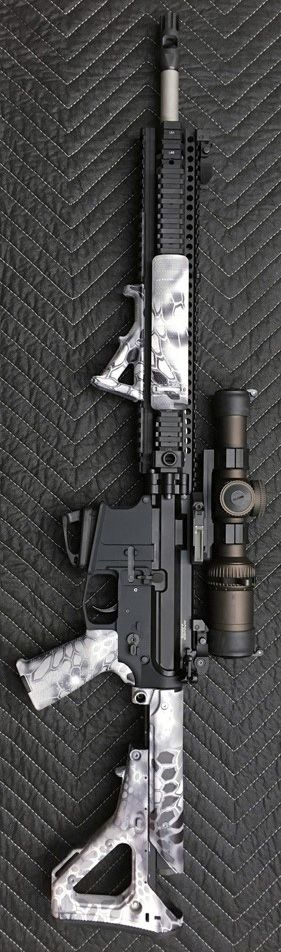 Wicked Cool Custom AR-15 Assault Rifle Firearm Gun Board @aegisgears