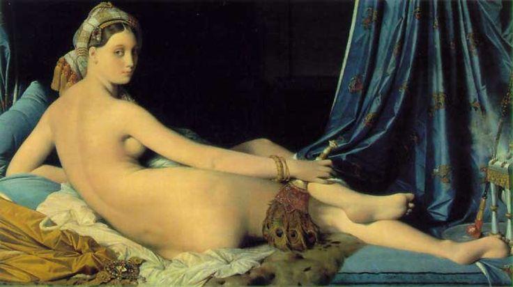 Jean-Auguste Dominique INGRES La grande Odalisque - 1814 huile sur toile - 91 x 162 cm Paris - Musée du Louvre
