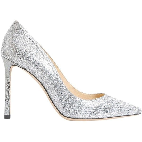 Romy Decolletè (€365) ❤ liked on Polyvore featuring shoes, pumps, argento, womenshoeshigh-heeled shoes, glitter pumps, glitter high heel pumps, leather sole shoes, glitter high heel shoes and high heel shoes