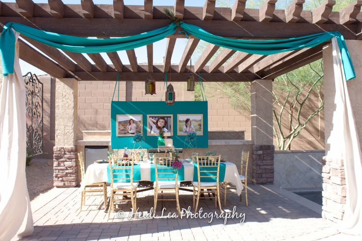 Backyard Sweet 16 Party Ideas sweet 16 party 4 decorations this could be a budget buster if you let it but i decided to get really resourceful on this one Outdoor Party Decor Use Burgandy Fabric Or Tulle Graduation Party Pinterest Outdoor Party Decor And Outdoor Parties