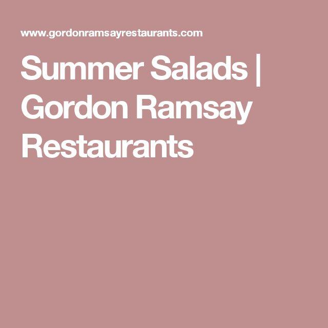 Summer Salads | Gordon Ramsay Restaurants