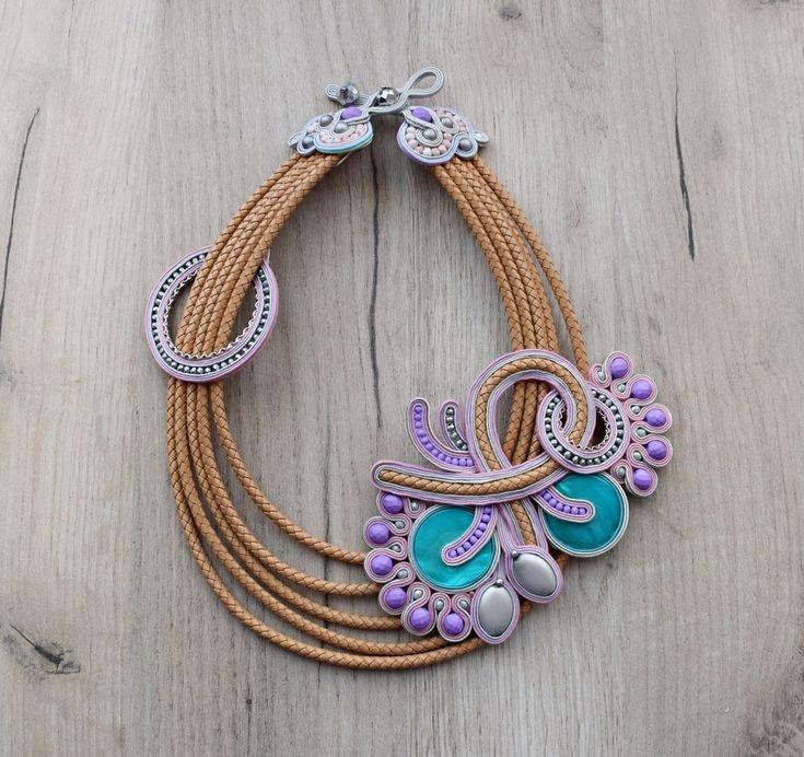#jewelry #necklace #soutache #sutasz #handmade #etsy #etsyjewelry #etsyhungary #soutachenecklace #soutachejewelry #statementjewelry #statementsoutache #fashion #accessories #cordnecklace #flashy #elegant #giftforher