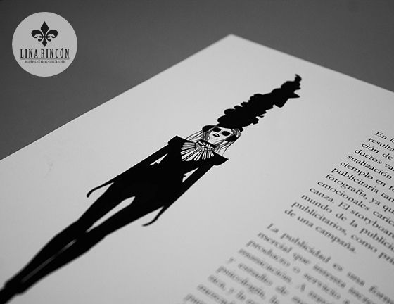 Project. High Fashion Illustration Book.