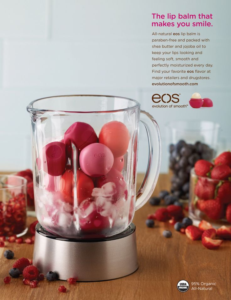 EOS  All natural EOS lip balm, Love their wonderful flavors ~ non greasy or sticky. Very nourishing and moisturizing.
