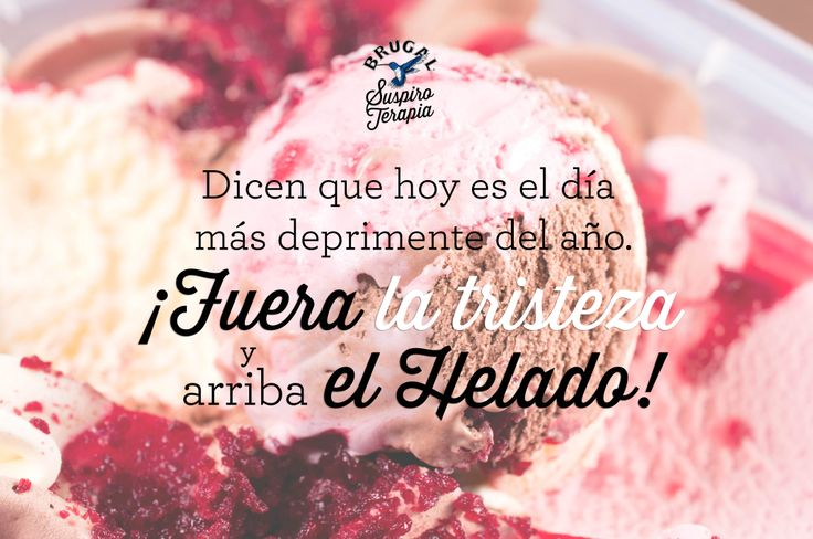 ¡¡Pink ice cream para un Blue Monday!!