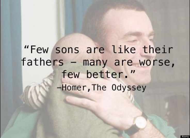 fathers day quotes to son from mom