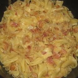 Yummy Cabbage and Noodles! Had to go back to my PA Dutch roots and make this. So, so good don't ya know now :)