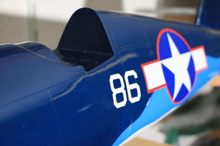CNC geschnittene Decals für Flugmodellbau