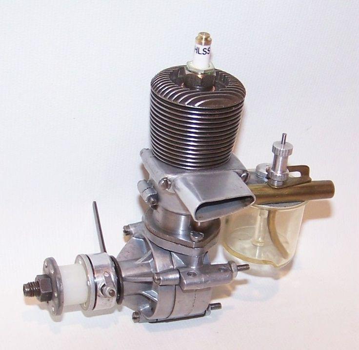Nice Vintage 1939 Ohlsson Gold Seal 56 Spark Ignition Model Airplane Engine   eBay