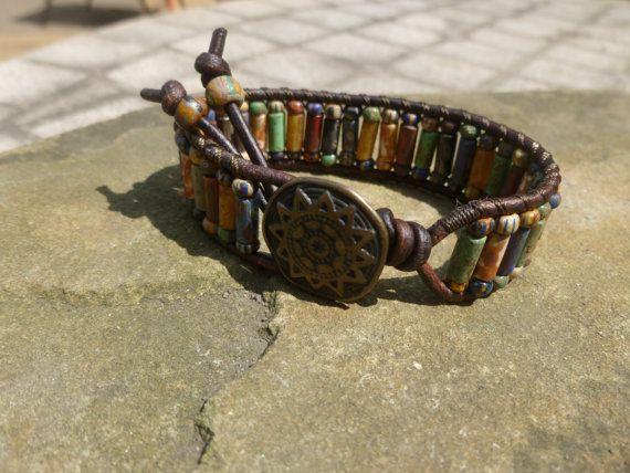 Picasso leeftijd mat Bugle één Wrap armband met olifant knop