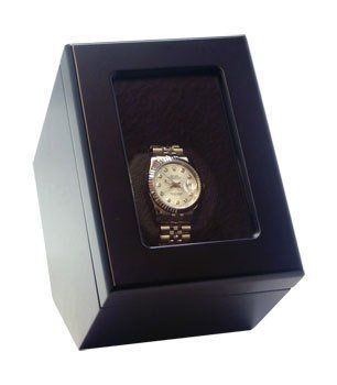 Heiden Prestige Automatic Single Watch Winder Black by Heiden. $109.00. Heiden Prestige Single Watch Winder - Black The Heiden Prestige automatic single watch winder is one of our newest models. This watch winder has 1 winder. The winder has 3 direction settings and 15 turns per day settings to accommodate various automatic watch brands and models. This is the most advanced winder in the market.  Great for watch collectors who own many brands of automatic watches. Plenty o...
