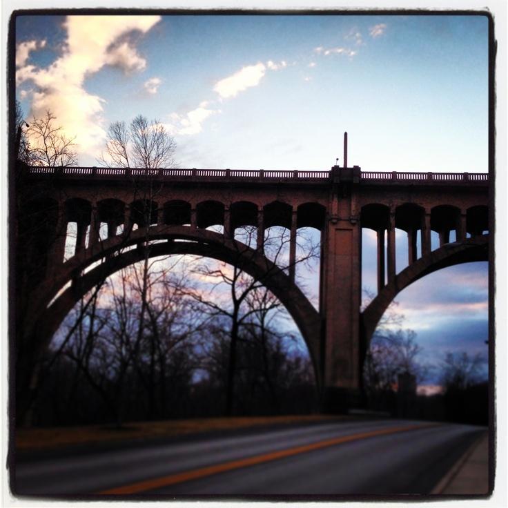 beautiful 8th St. Bridge, Allentown Pennsylvania