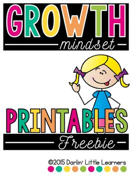 "Included you will find a ""snippet"" from my Growth Mindset resource. Directions for how to create the flip-flap book are included. This freebie will have students identify a time that they were faced with a struggle. They will also explain what a fixed mindset would be vs. a growth mindset. Last, they will create a goal related to their struggle."