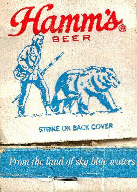 Hamm's Beer Vintage Matchbook -- A Lifetime Legacy -- ALifetimeLegacy.com