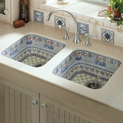 Charming KOHLER K 14578 LC 0 Life In The Country Design On Clay/