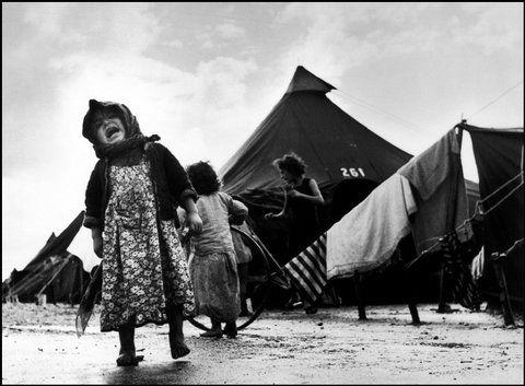 HAIFA, Israel—Sha'ar Ha'aliya Absorption Camp, 1950.  © ROBERT CAPA © 2001 By Cornell Capa / Magnum Photos