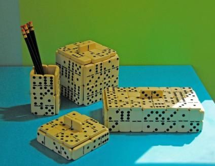A different use for dominoes   The Wallflower   an SFGate.com blog