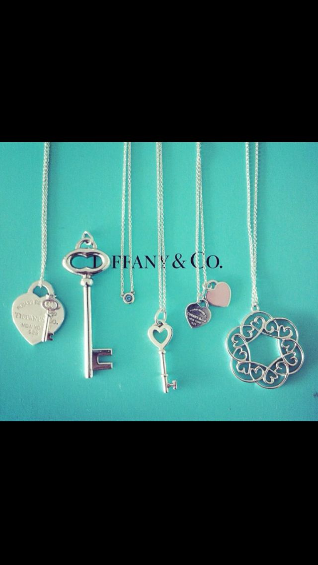I reallyyyy love the heart and key, but really anything tiffanys will work. lol