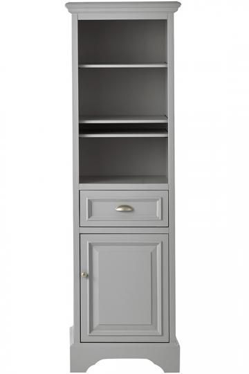 Unique Tall Narrow Storage Cabinet with Baskets