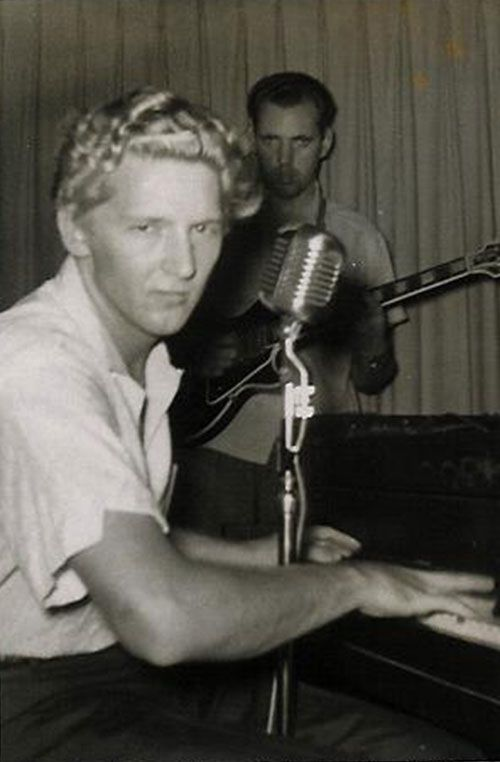 hillbillyholly: Jerry Lee Lewis, Roland Janes
