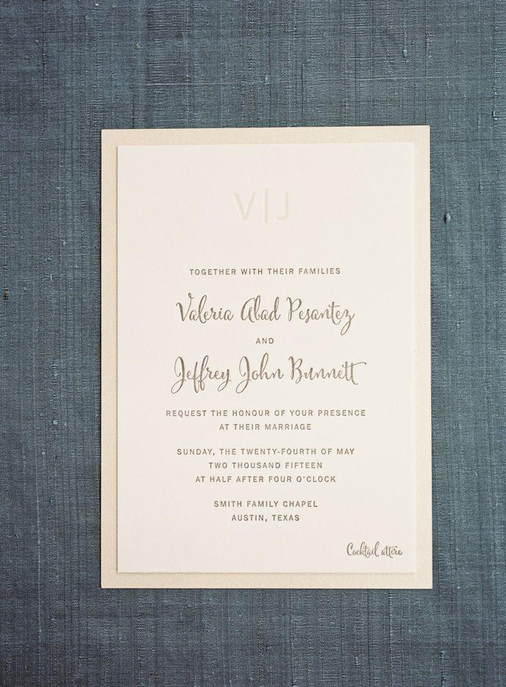 wedding invitation content marriage%0A Elegant Blush   Gold Al Fresco Wedding  Invitation TextStationery